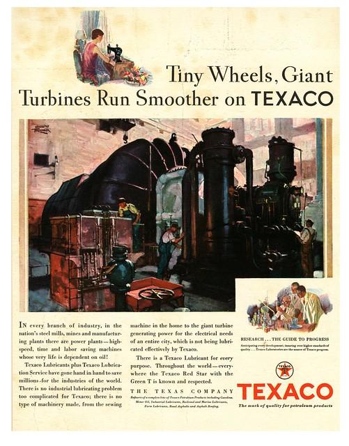 Tiny Wheels to Industrial Turbines