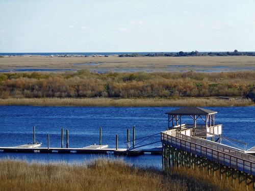 pier northcarolina sunsetbeach atlanticocean intracoastalwaterway
