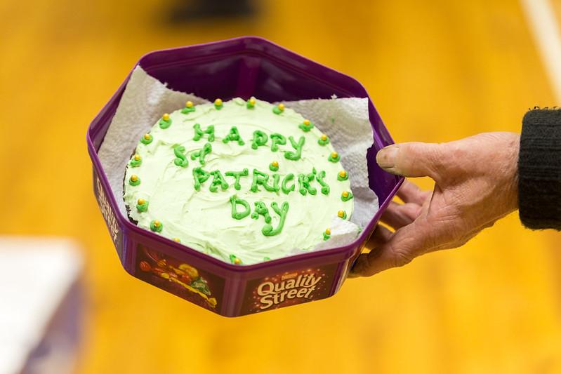 St Patricks Day cake thanks to Sadie!