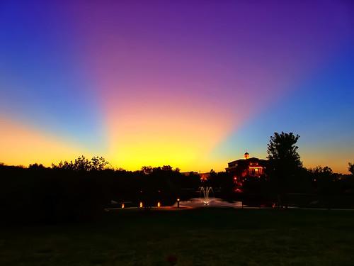 sunset texas tx hdr internalhdr dfw southlake sony dschx80 godblesstexas sky skies hilton hiltonsouthlake