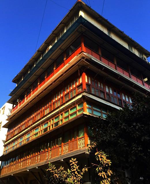 Beautiful architecture in Colaba, Mumbai