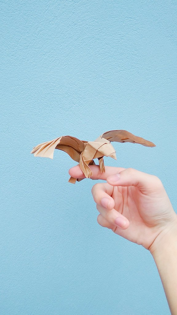 ORIGAMI EAGLE - Simplified version (Jo Nakashima) - YouTube | 1024x576