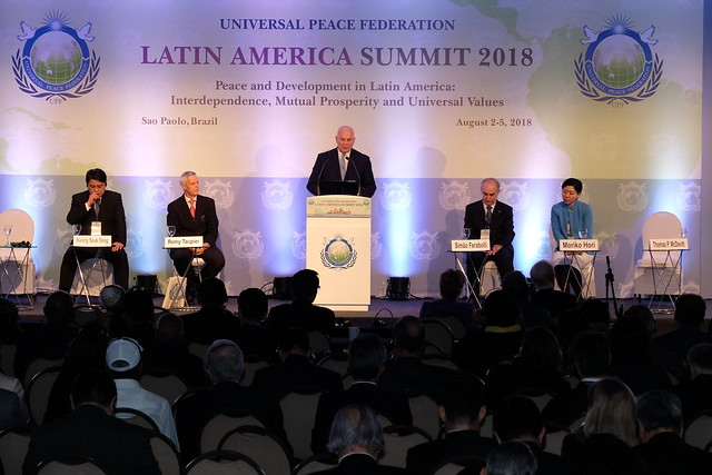BRAZIL-2018-08-03-Presidents and Lawmakers Address Day Two of Summit