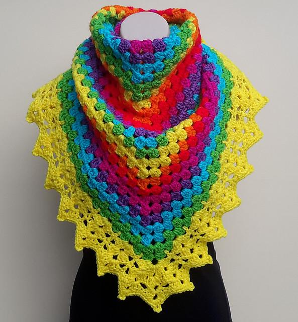 Crochet-Shawl  free 1