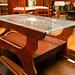 Retro coffee table glass E45