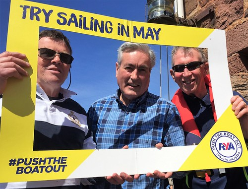 Supporting #Pushtheboatout sailing campaign | by Iain Gray MSP