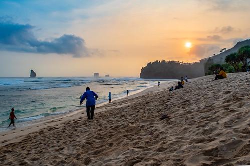 Sunset at Goa Cina Beach | by Yap Michael