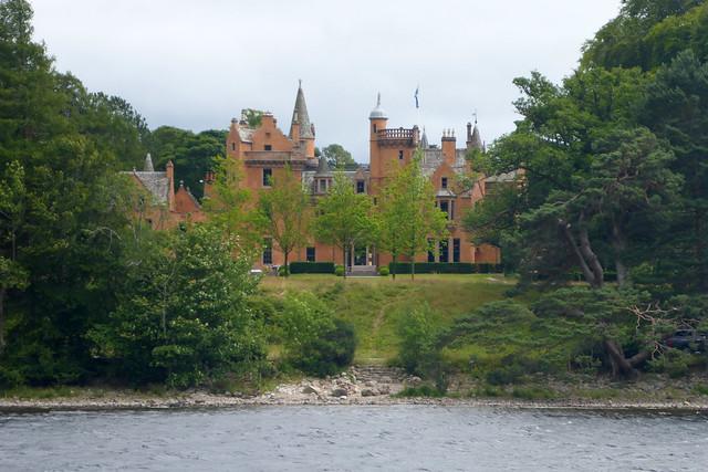 Aldourie Castle, Loch Ness