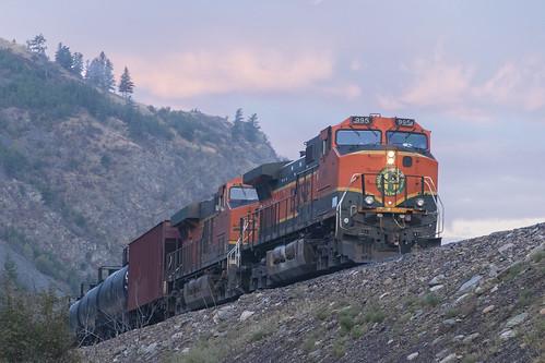 bnsf train railroad montana mrl h1