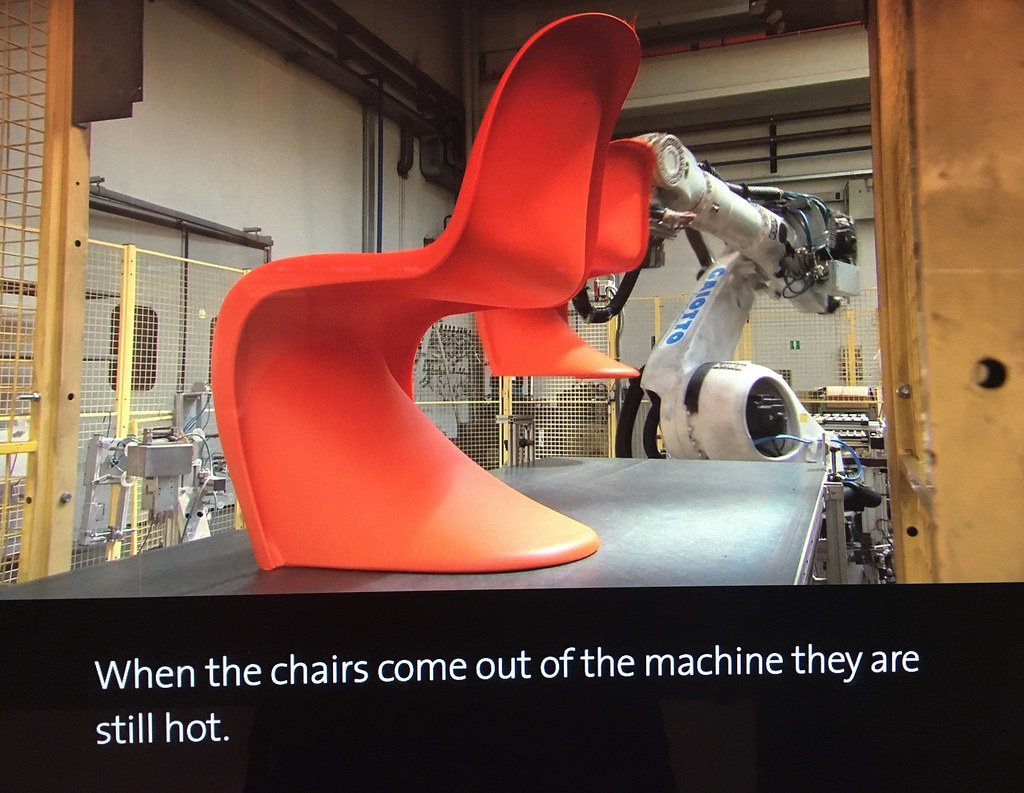 Proceso diseño silla PAHNTOM de Verner Panton