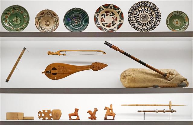 Art populaire de Bulgarie (musée d'ethnographie, Neuchâtel, Suisse)