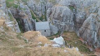 20180714_211811 St Govan's chapel hidden in a gulley
