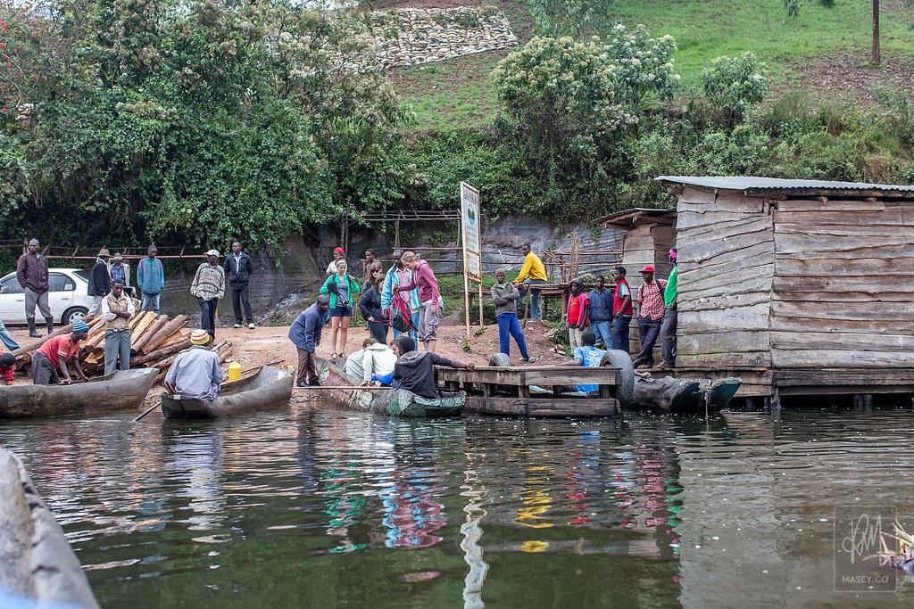 Lake Bunyonyi village visit