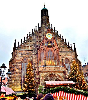 Christmas Market Frauenkirche Church Of Our Lady Old To Flickr