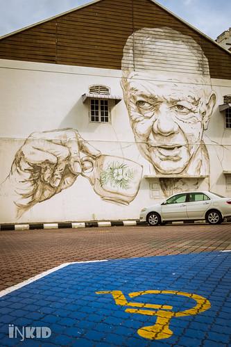 street art wall zeiss t mural view sony photograph carl malaysia f2 24mm za ipoh slt ssm perak distagon a65