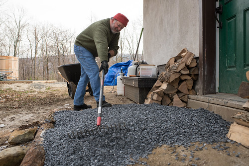 Charlie Making Stone Walkway | by goingslowly