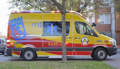 Nueva mercedes Sprinter Samur Protección Civil (SVB) | by juanemergencias