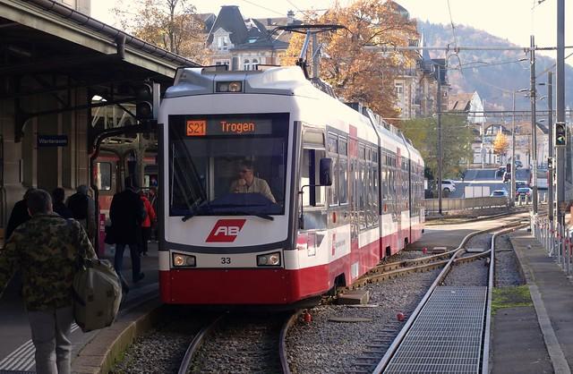 Appenzeller Bahnen in St. Gallen