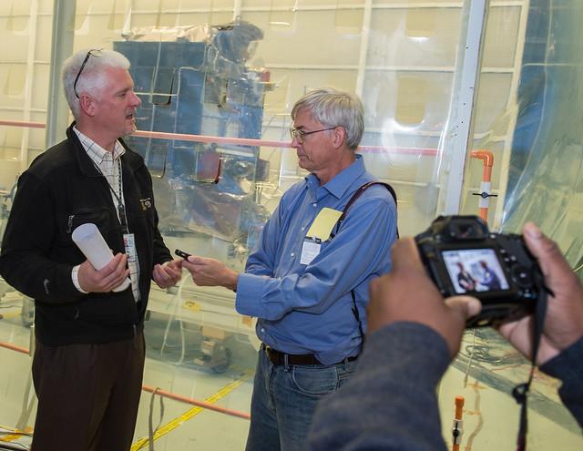 Doug Whiteley, NOAA Office of Systems Development, at DSCOVR Media Day (Nov. 5, 2014)