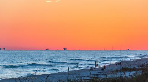 sunset fall gulfofmexico landscape unitedstates alabama sunsets dailyphoto gulfshores baldwincounty gulfshoresalabama baldwincountyalabama d5000 pauldiming gulfshoresbaldwincounty