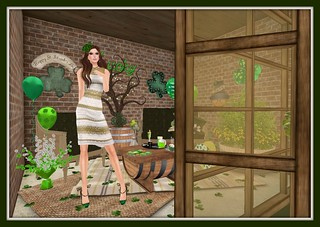 St. Paddy's Day 2015 Gloria | by Hidden Gems in Second Life (Interior Designer)