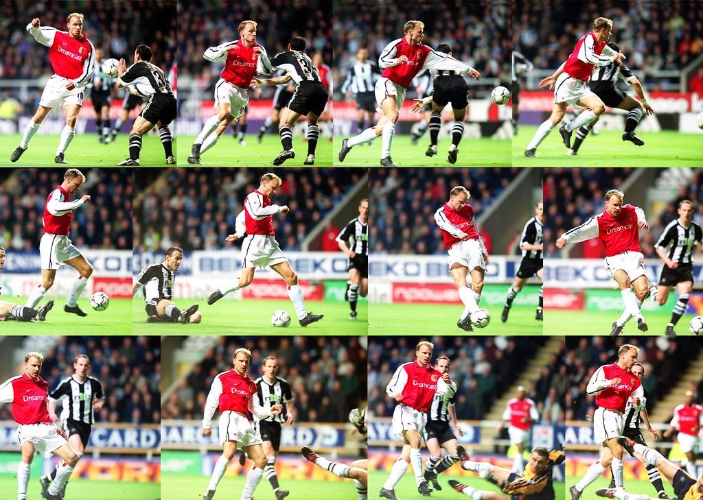 Bergkamp Goal v Newcastle | Dennis Bergkamp scores a goal fo… | Flickr