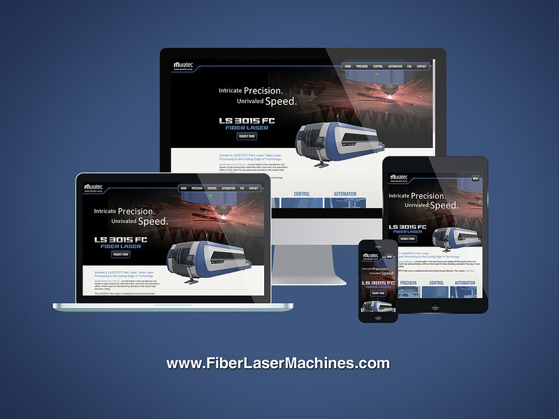Murata Machinery Responsive Website Design