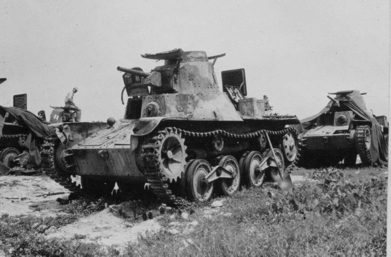 "Light Tank - Type 95 ""Ha-go"""