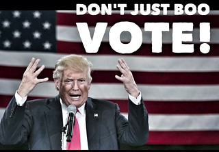 Don't Just Boo. Vote! | by Howdy, I'm H. Michael Karshis