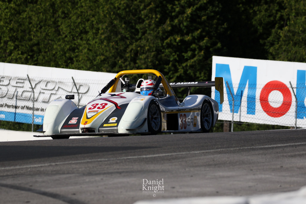 Radical Canada Cup   Doug Allingham's #33 Radical Sportscar   Dan