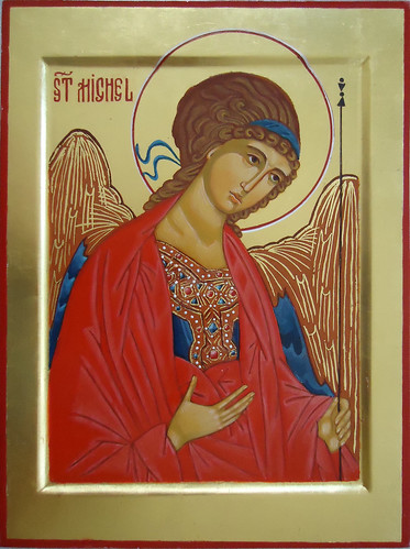 2015 Icône de l'Archange saint Michel - Saint Michael Archangel Icon.  Main de - Hand of : Helene Dieudé | by Périchorèse-iconographie