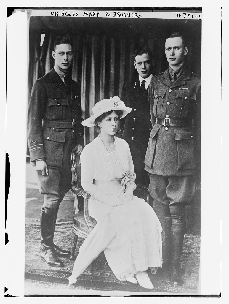 Princess Mary & Brothers (LOC)