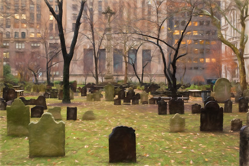 Cemetery Trinity Church | by Garen M.