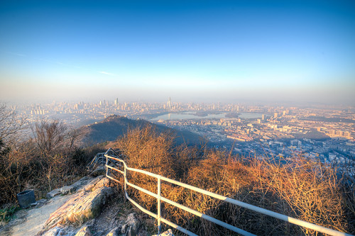 city morning blue winter sky urban mountain lake cold building tree nature forest sunrise high nikon top wide sigma peak 1224 d800