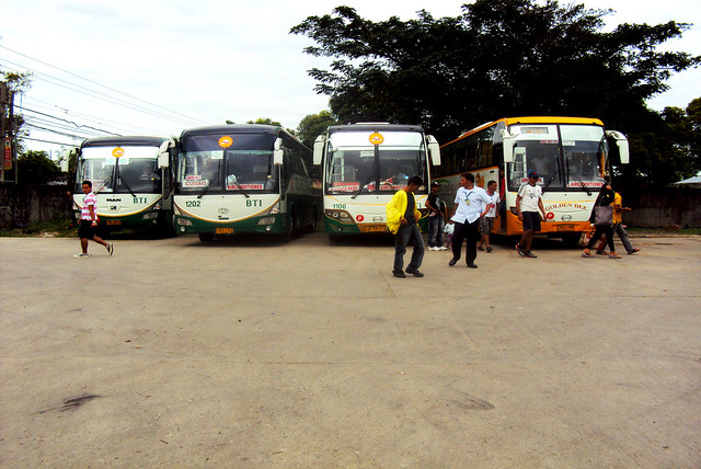 HINO FAMILY HERE AT SN.MIGUEL BUS STOP
