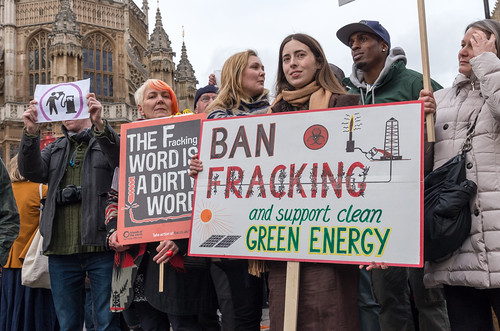 No Fracking - London protest, 26 Jan 2015 | by The Weekly Bull