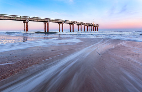 sunset beach st clouds pier long exposure slow florida mark tide ii shutter 5d augustine 1740mm conon