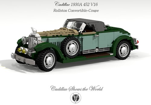 Cadillac 1930 452A V16 Rollston Convertible-Coupe