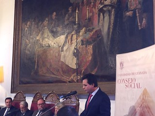 Discurso de Esteban Romero sobre cultura digital en los Premios del Consejo Social de la Universidad de Granada