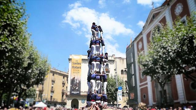 Castellers - Colla Castellera Capgrossos de Mataró