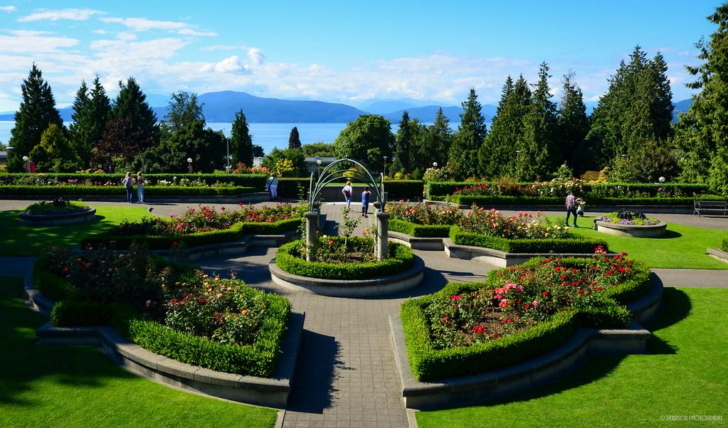 University of British Columbia Rose Garden | Vancouver, Brit… | Flickr