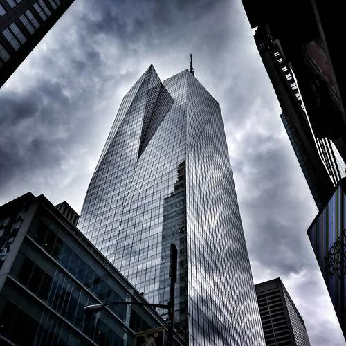 Sky in Glass  #Newyork #nyc #newyorkcity #manhattan #Travel #travelgram #trip #sky #clouds #cloudporn #lookingup #reflection #skyscraper #Architecture #archilovers #modern #building #city #street #iloveny #ilovenyc #newyorkphoto #instacool #instanewyork # | by Mario De Carli