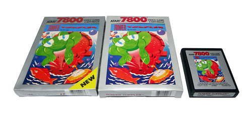 Atari 7800 - Tower Toppler | by TomBrazil100