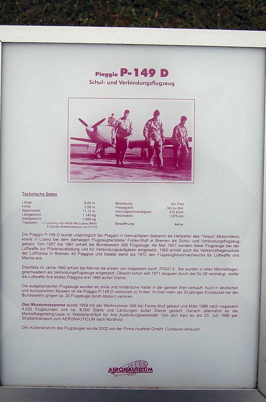 Piaggio P-149D 1