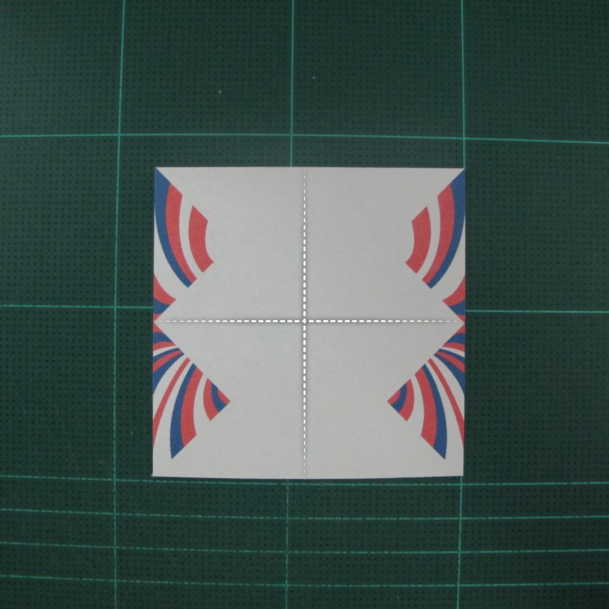 การพับกระดาษเป็นผีเสื้อแบบง่ายๆ (Easy Origami Butterfly) 001