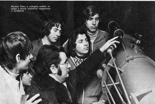 VCSE - Péter nem ma kezdte a bemutatókat. Újságfelvétel 1977 körülről - Mizser Attila szívességéből