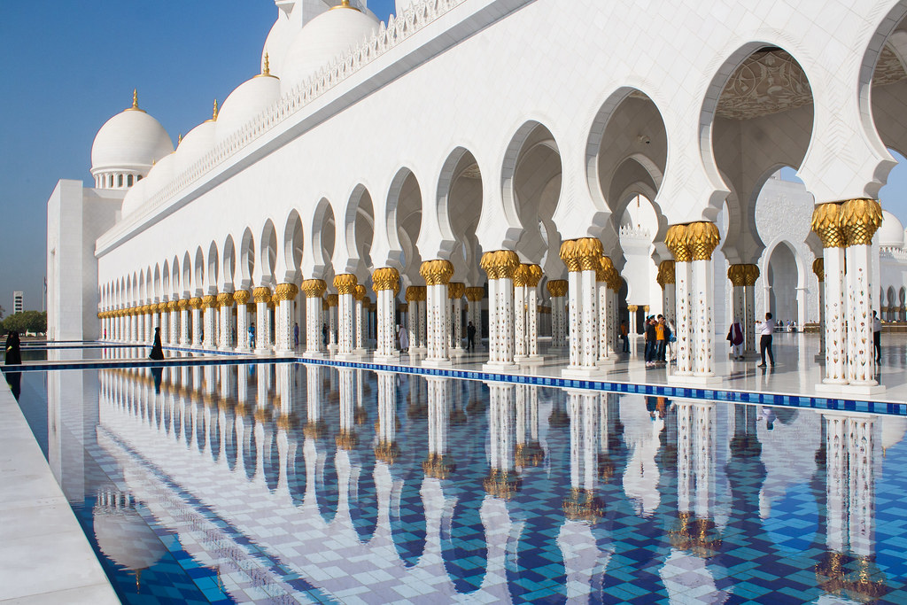 Grand Mosque, Abu Dhabi [Explored]