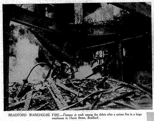1st March 1939 - Mill fire - Harris Street, Bradford | by Bradford Timeline