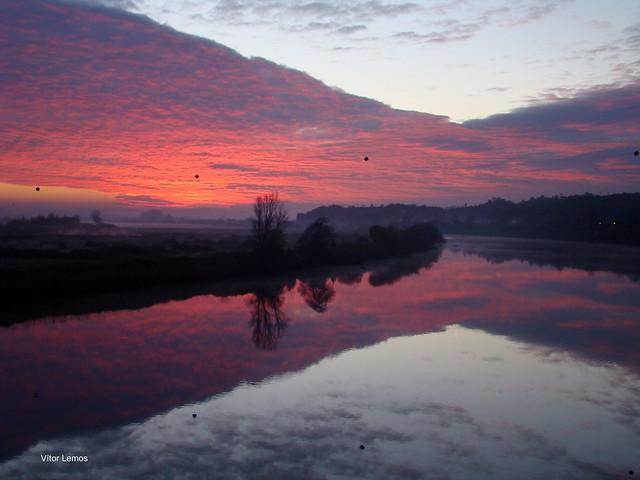 Reflexos do amanhecer