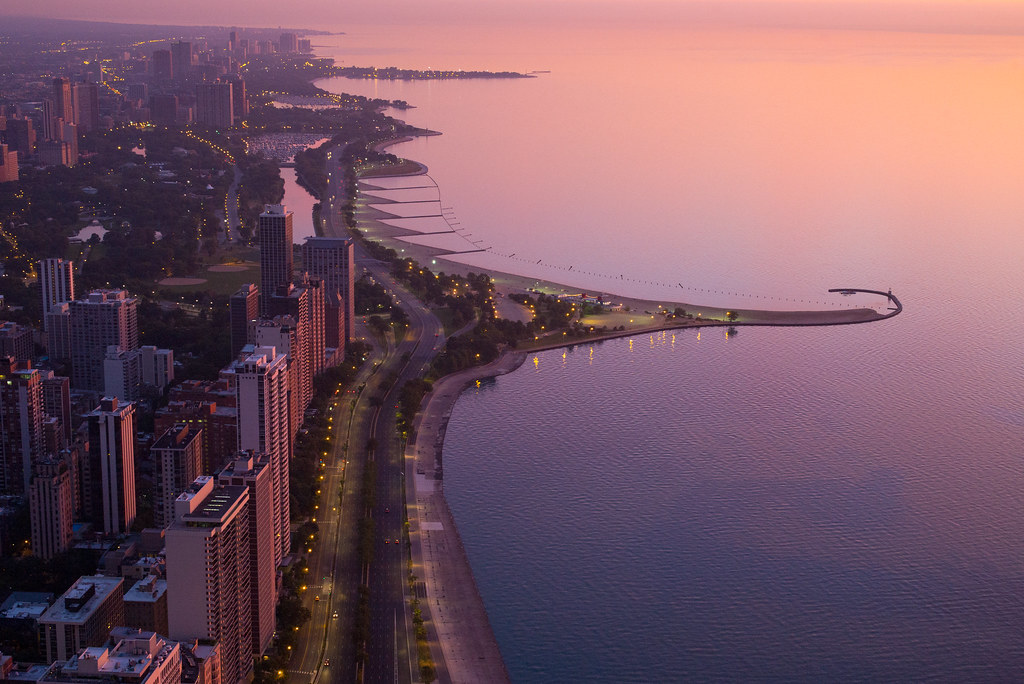 Chicago Summer Sunrise